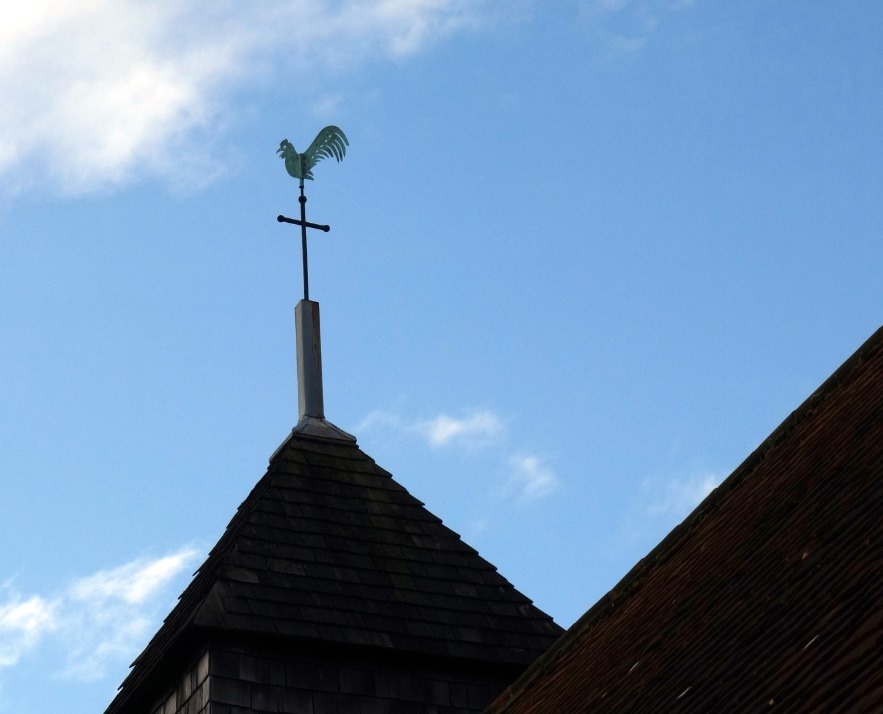 Binsted church weathercock